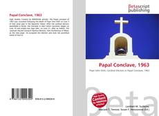 Bookcover of Papal Conclave, 1963