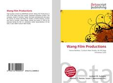 Wang Film Productions kitap kapağı
