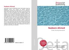 Bookcover of Nadeem Ahmed