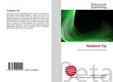 Bookcover of Nadeem Taj