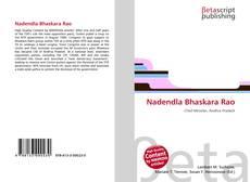 Bookcover of Nadendla Bhaskara Rao