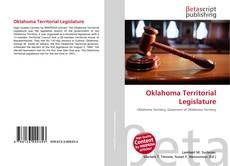 Bookcover of Oklahoma Territorial Legislature