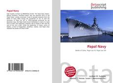 Bookcover of Papal Navy