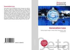 Bookcover of Generation Loss