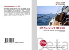 Bookcover of USS Sturtevant (DD-240)
