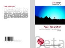 Papal Resignation的封面