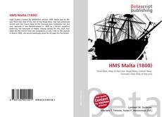Bookcover of HMS Malta (1800)