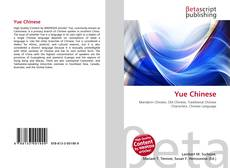 Bookcover of Yue Chinese