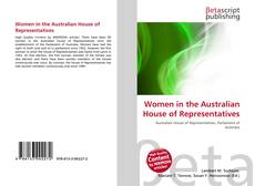 Bookcover of Women in the Australian House of Representatives