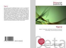 Yue Li kitap kapağı