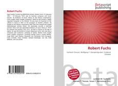Buchcover von Robert Fuchs