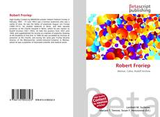 Bookcover of Robert Froriep