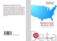 Bookcover of Oklahoma State Elections, 2010