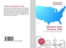 Bookcover of Oklahoma State Elections, 2008