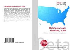 Bookcover of Oklahoma State Elections, 2006
