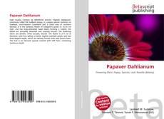 Borítókép a  Papaver Dahlianum - hoz