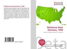 Bookcover of Oklahoma State Elections, 1998