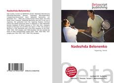 Bookcover of Nadezhda Belonenko