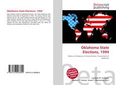 Bookcover of Oklahoma State Elections, 1994