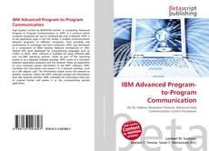 Bookcover of IBM Advanced Program-to-Program Communication