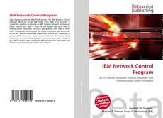 Bookcover of IBM Network Control Program