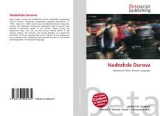Bookcover of Nadezhda Durova