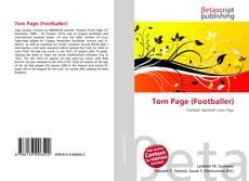 Tom Page (Footballer) kitap kapağı
