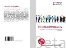 Bookcover of Prehistoric Demography