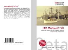 HMS Medway (1755) kitap kapağı