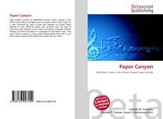 Buchcover von Paper Canyon