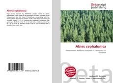 Abies cephalonica的封面