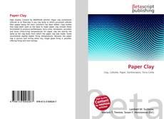 Buchcover von Paper Clay