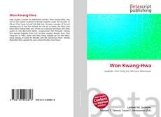 Capa do livro de Won Kwang-Hwa