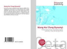 Portada del libro de Wang Hui (Tang Dynasty)