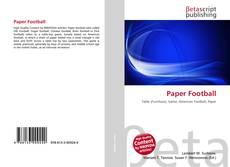 Buchcover von Paper Football