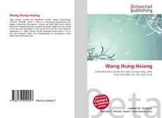 Copertina di Wang Hung-Hsiang