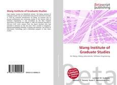 Buchcover von Wang Institute of Graduate Studies