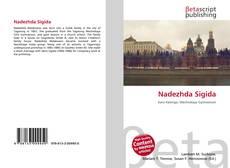 Portada del libro de Nadezhda Sigida