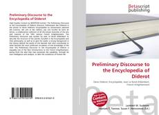 Couverture de Preliminary Discourse to the Encyclopedia of Diderot