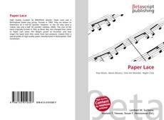 Buchcover von Paper Lace