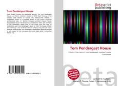 Capa do livro de Tom Pendergast House