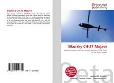 Portada del libro de Sikorsky CH-37 Mojave
