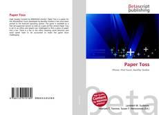 Buchcover von Paper Toss