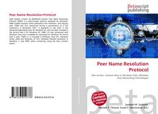 Bookcover of Peer Name Resolution Protocol