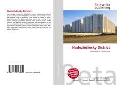 Bookcover of Nadezhdinsky District