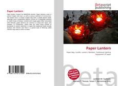 Buchcover von Paper Lantern