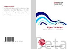 Buchcover von Paper Terrorism