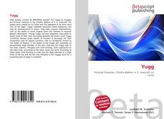 Bookcover of Yugg