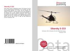 Bookcover of Sikorsky S-333