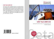 Buchcover von USS Teal (AM-23)